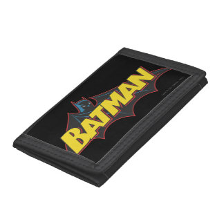 Batman | Old School Logo Trifold Wallet