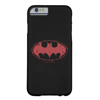 Batman | Oozing Red Bat Logo Barely There iPhone 6 Case