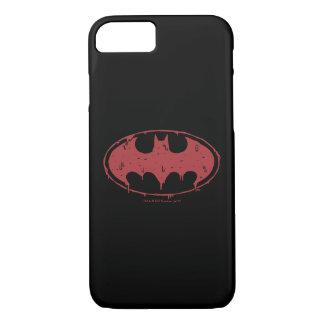 Batman | Oozing Red Bat Logo iPhone 8/7 Case