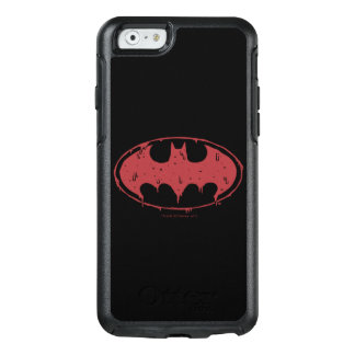 Batman   Oozing Red Bat Logo OtterBox iPhone 6/6s Case