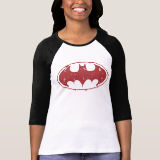 Batman | Oozing Red Bat Logo T-Shirt
