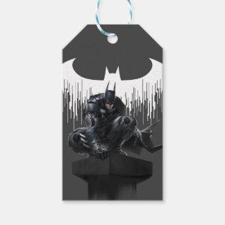 Batman Perched on a Pillar Gift Tags