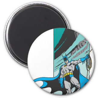 Batman Perches 2 Inch Round Magnet
