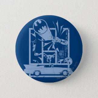 Batman - Picto Blue 2 Inch Round Button