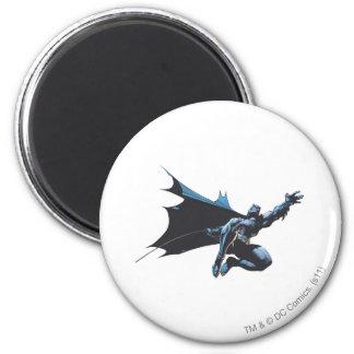 Batman reaches 2 inch round magnet