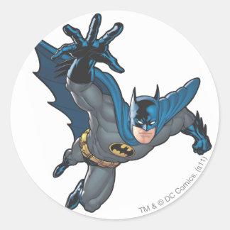 Batman Reaches Forward Classic Round Sticker