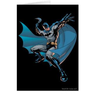 Batman ready to throw card