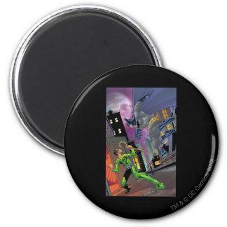 Batman - Riddler Magnet Rond 8 Cm