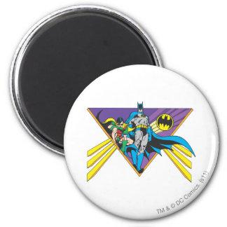 Batman & Robin 2 2 Inch Round Magnet