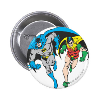 Batman & Robin 2 Inch Round Button