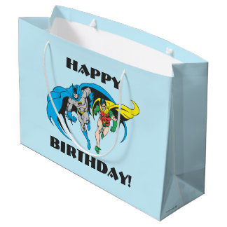 Batman & Robin Large Gift Bag