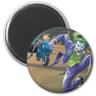 Batman Rogue Rage - 3 2 Inch Round Magnet