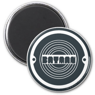 Batman Round Logo 2 Inch Round Magnet