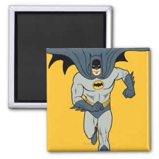 Batman Running Square Magnet