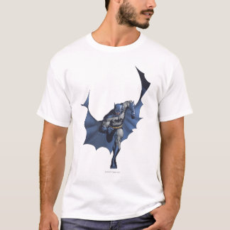 Batman runs with flying cape T-Shirt
