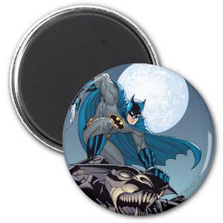 Batman Scenes - Gargoyle 2 Inch Round Magnet
