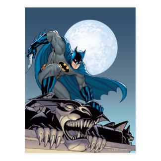 Batman Scenes - Gargoyle Postcard