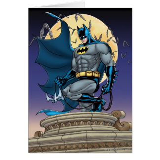 Batman Scenes - Moon Side View Card