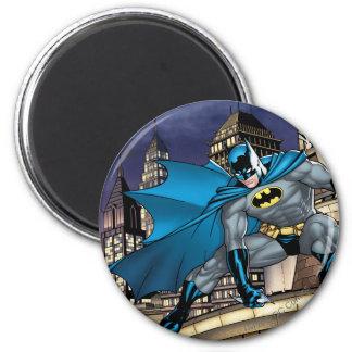 Batman Scenes - Tower 2 Inch Round Magnet