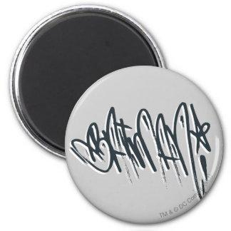 Batman Script 2 Inch Round Magnet