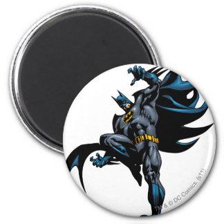 Batman se laisse tomber vers le bas magnet rond 8 cm