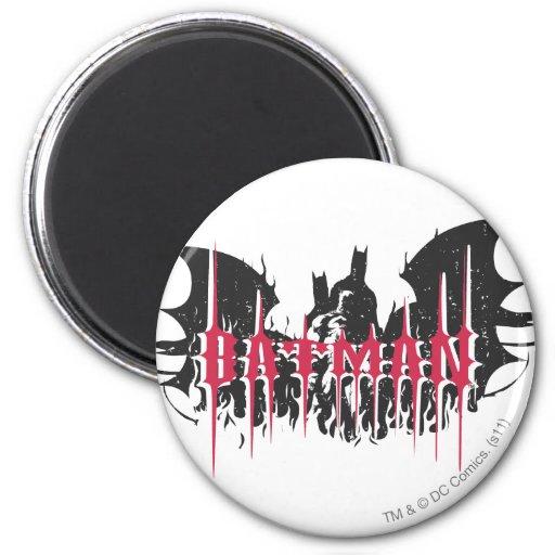 Batman Silhouette Magnet