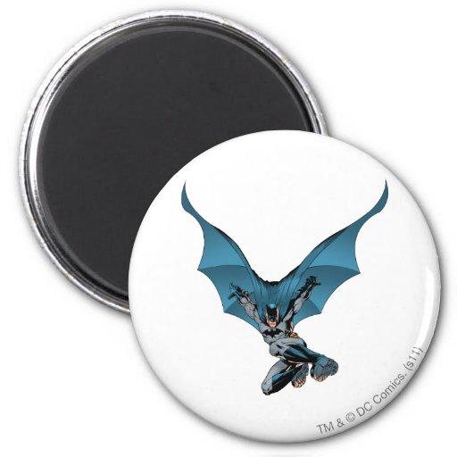 Batman skips in fridge magnet