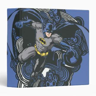 Batman Skulls/Ink Doodle 2 3 Ring Binders