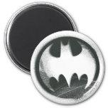 Batman Spray Symbol 2 2 Inch Round Magnet