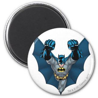 Batman Stands 2 Inch Round Magnet