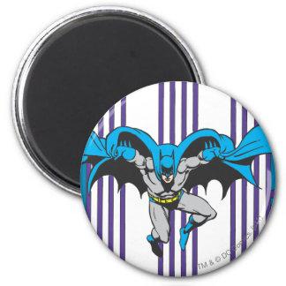 Batman Stripes 2 Inch Round Magnet