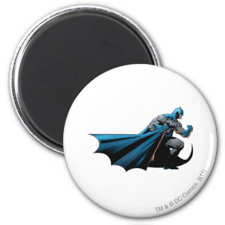 Batman strong look right 2 inch round magnet