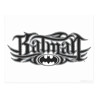 Batman | Stylized Logo Postcard