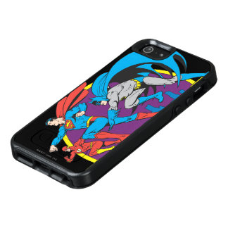 Batman + Superman + Flash OtterBox iPhone 5/5s/SE Case