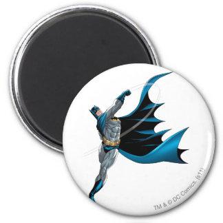 Batman Swings Punch 2 Inch Round Magnet
