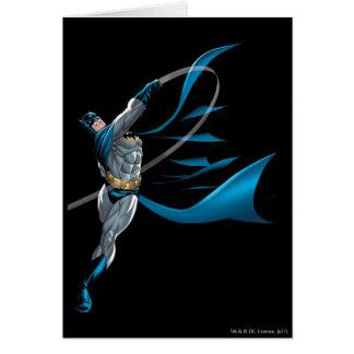 Batman Swings Punch Card