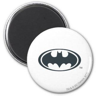 Batman Symbol 2 Inch Round Magnet