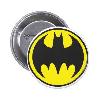 Batman Symbol | Bat Circle Logo 2 Inch Round Button