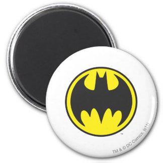 Batman Symbol | Bat Circle Logo 2 Inch Round Magnet