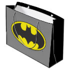 Batman Symbol | Bat Oval Logo Large Gift Bag