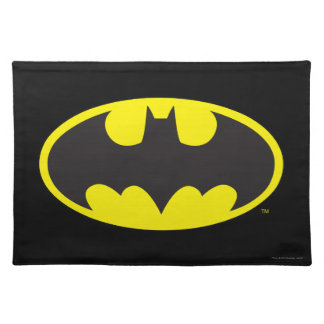 Batman Symbol | Bat Oval Logo Placemats