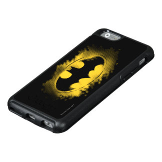 Batman Symbol | Black and Yellow Logo 2 OtterBox iPhone 6/6s Case
