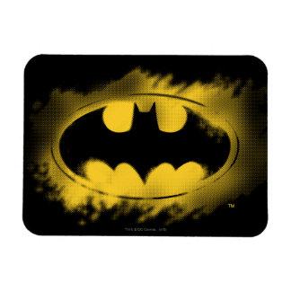 Batman Symbol | Black and Yellow Logo Rectangular Photo Magnet
