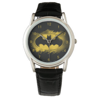 Batman Symbol | Black and Yellow Logo Watch