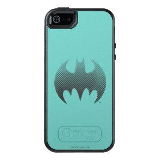 Batman Symbol | Black White Fade Logo OtterBox iPhone 5/5s/SE Case