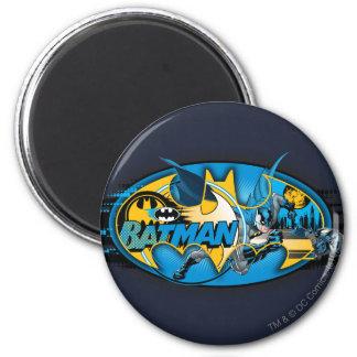 Batman Symbol | Classic Collage Logo Magnet