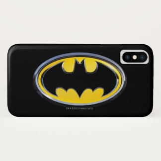 Batman Symbol | Classic Logo iPhone X Case