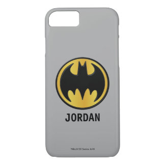 Batman Symbol | Classic Round Logo iPhone 8/7 Case