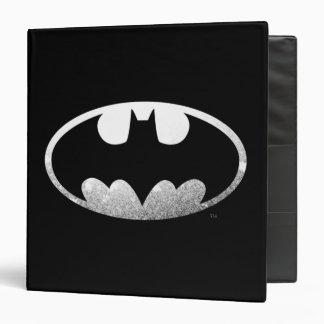 Batman Symbol   Grainy Logo Vinyl Binders