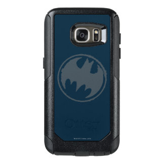 Batman Symbol | Gray Grunge Logo OtterBox Samsung Galaxy S7 Case